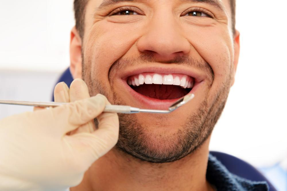 man smiling | Dentist Chesterfield MO