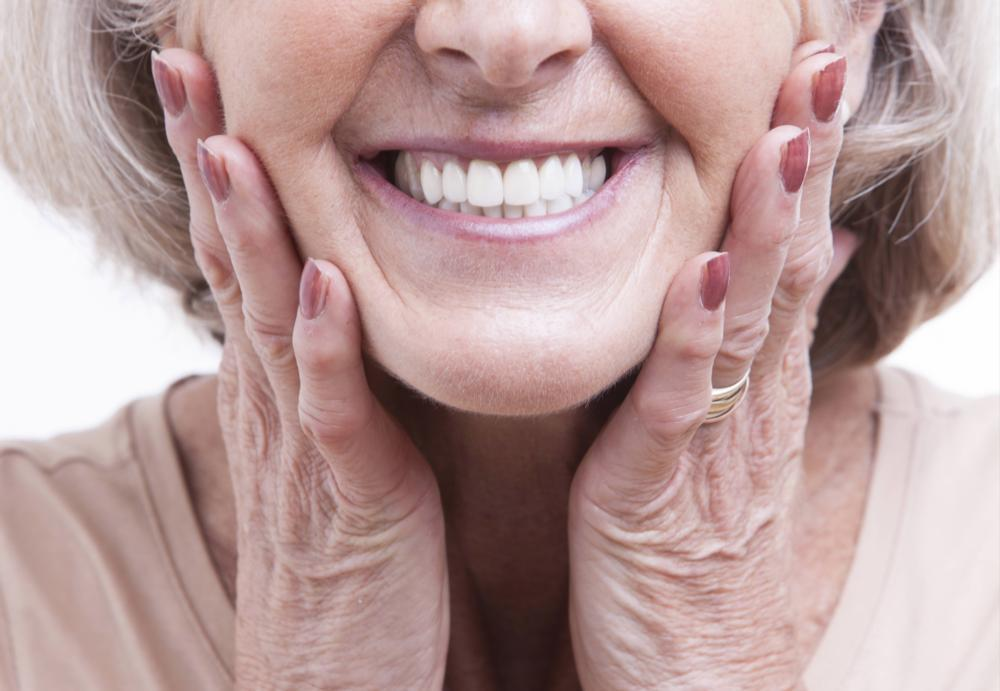 Close up of woman's smile | dentist Chesterfield MO