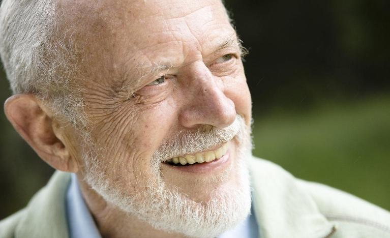older man smiling | dentist Chesterfield MO