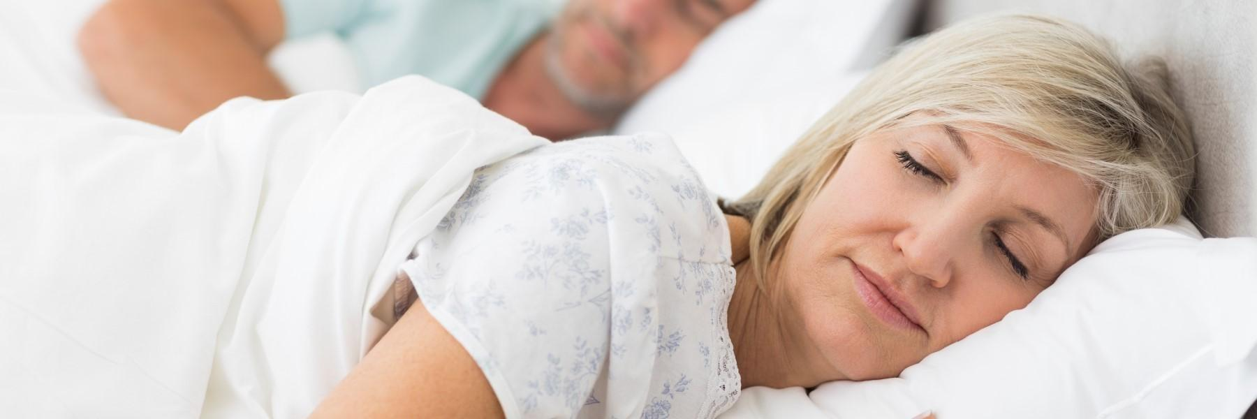 Woman sleeping peacefully | Chesterfield MO Dentist
