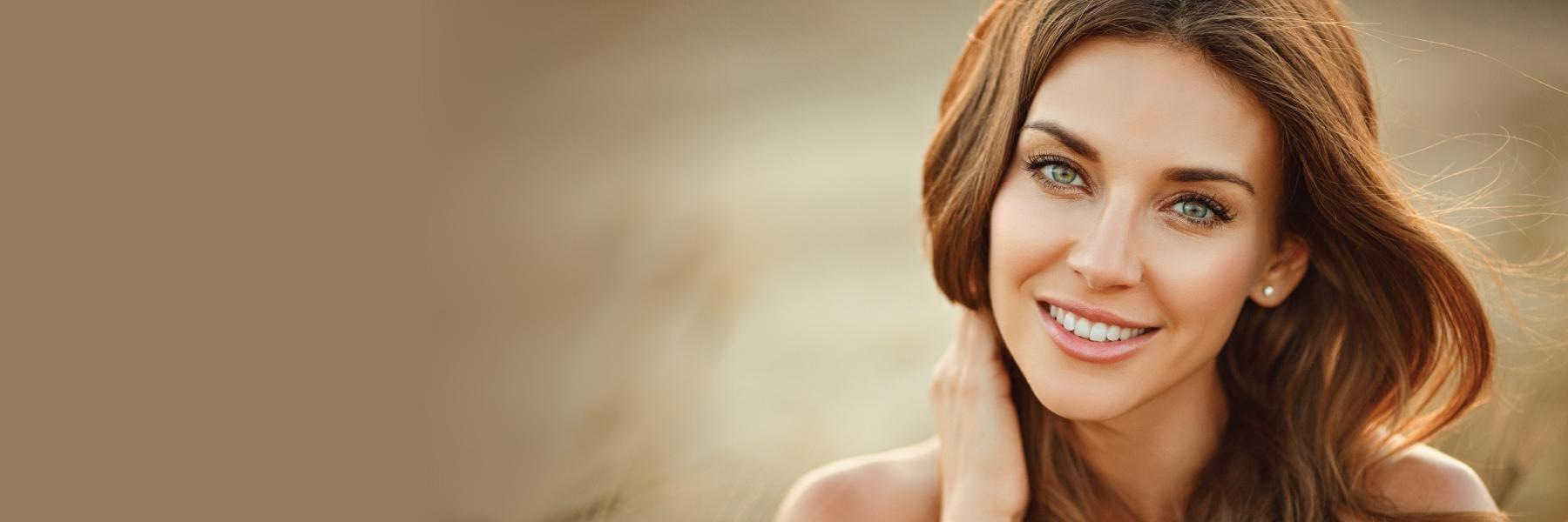 Woman smiling | Dentist Chesterfield MO