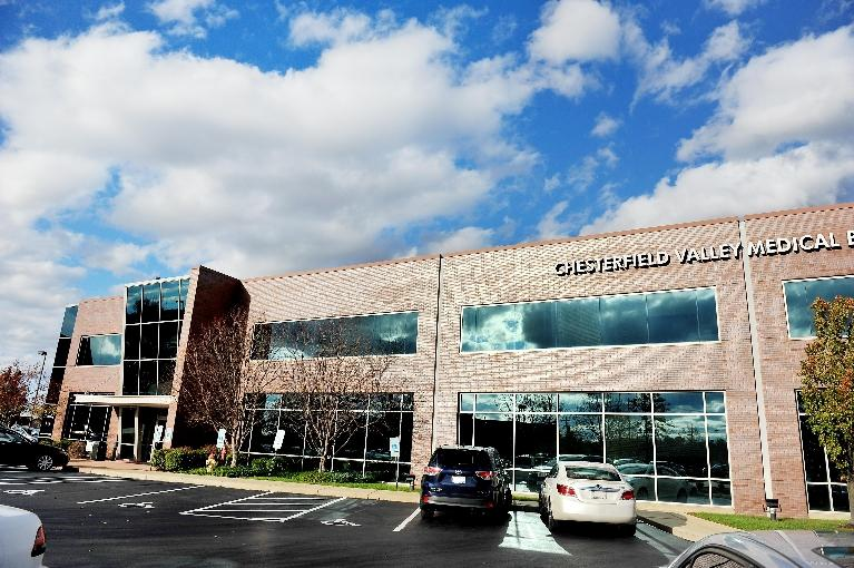 Located in the Chesterfield Valley Medical Building just off Boone's Crossing in Chesterfield Valley